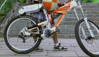 Bisiklet motosiklete nasıl dönüşür?